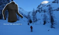 Tee shirt Mérinos Trek 500 (Forclaz)