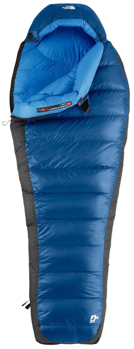 sac de couchage north face blue kazoo