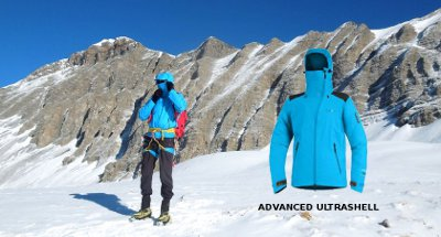 Veste Advanced Ultrashell (CimAlp)